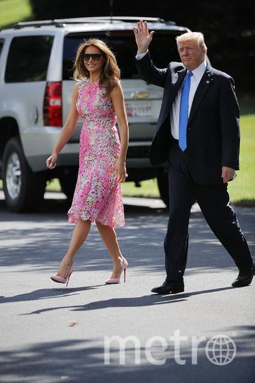 Мелания Трамп покорила модных критиков летним образом. Фото Getty