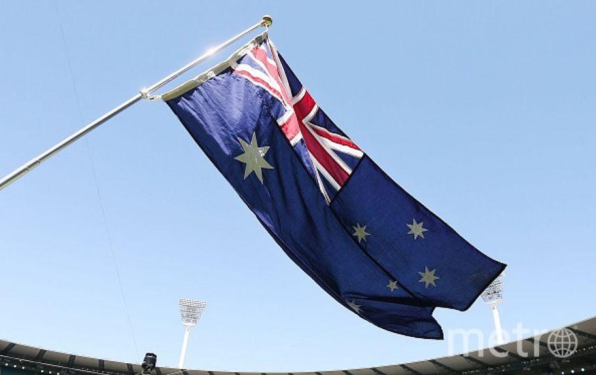 Флаг Австралии. Фото Getty