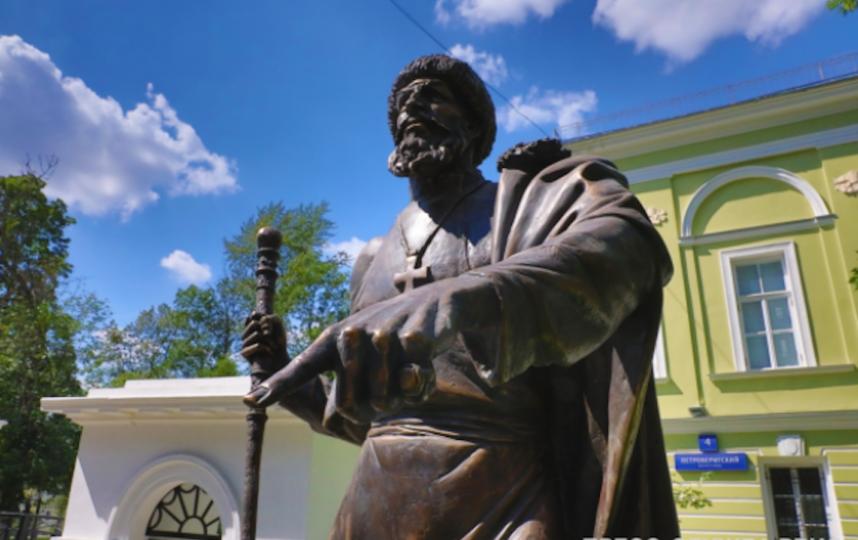 В центре Москвы установили памятник Ивану Грозному. Фото пресс-служба Российского военно-исторического общества
