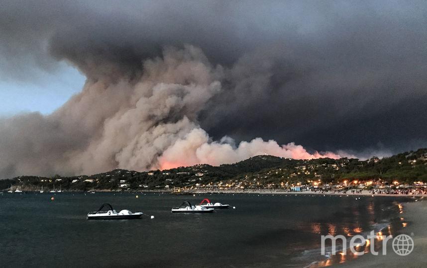 Во Франции бушуют лесные пожары. Фото AFP