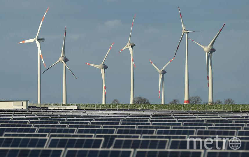 Энергия солнца и ветра. Фото Getty