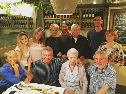 Семья Леонида Агутина и Анжелики Варум. Фото Instagram леонида Агутина.