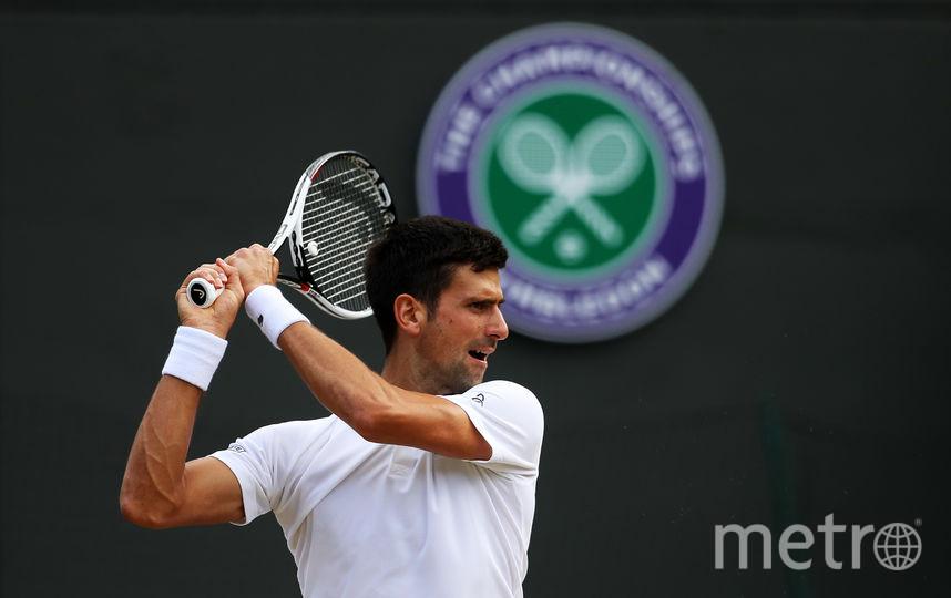Сербский теннисист и экс-первая ракетка мира Новак Джокович. Фото Getty