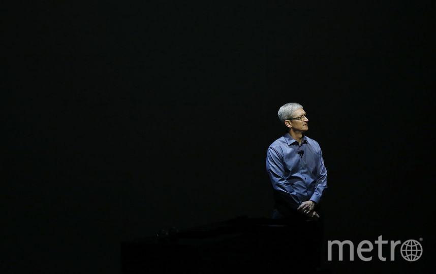 Глава Apple Тим Кук. Фото Getty