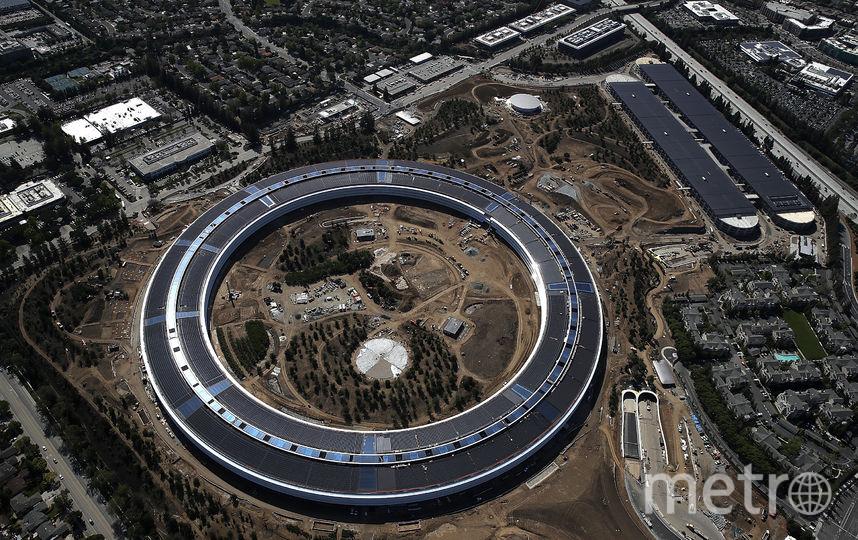 Новый кампус компании Apple. Фото Getty