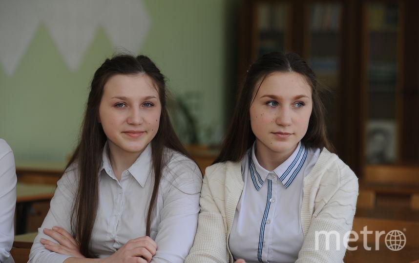 Алина и Алеся Лебедевы. Фото Константин Румянцев