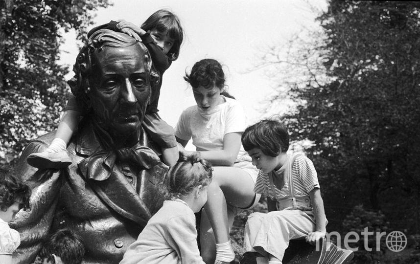 Памятник Андерсену в Нью-Йорке. Фото Getty