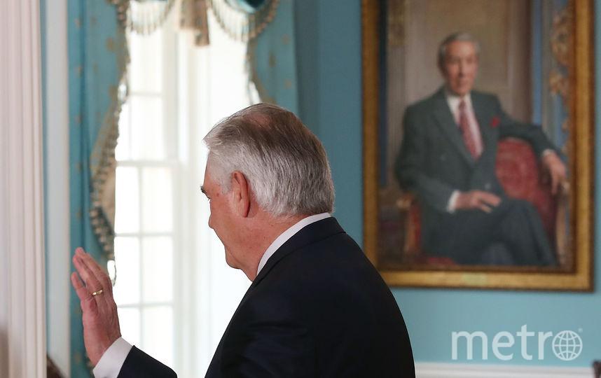 Государственный секретарь США Рекс Тиллерсон. Фото Getty