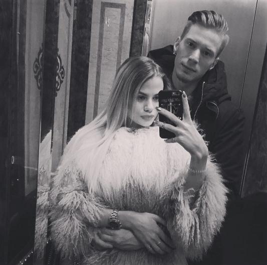 Никита Пресняков с Алёной Красновой. Фото Instagram Никиты Преснякова.