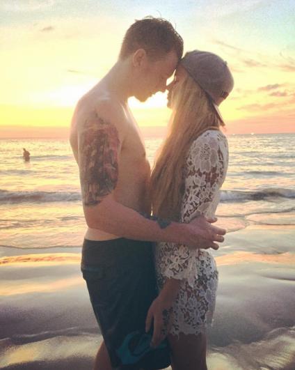 Никита Пресняков с Алёной Красновой. Фото Instagram Алёны Красновой.