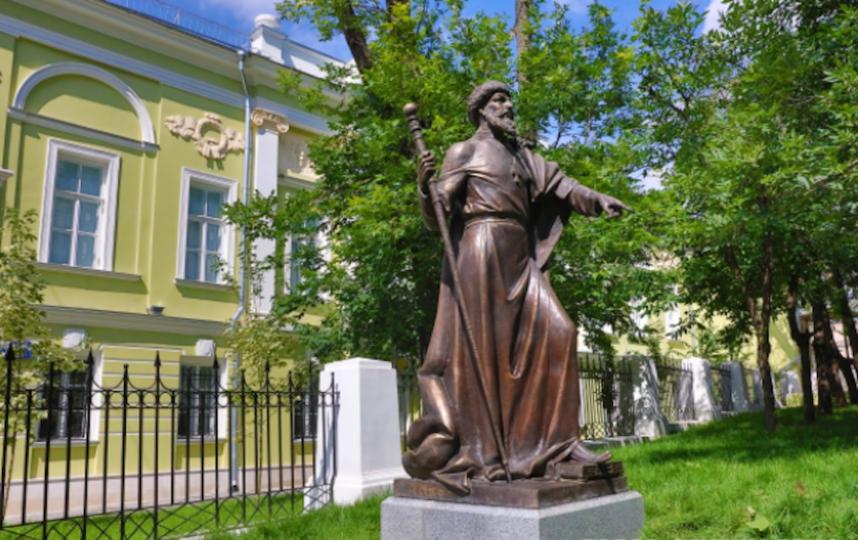 Памятник Ивану Грозному. Фото Российское военно-историческое общество