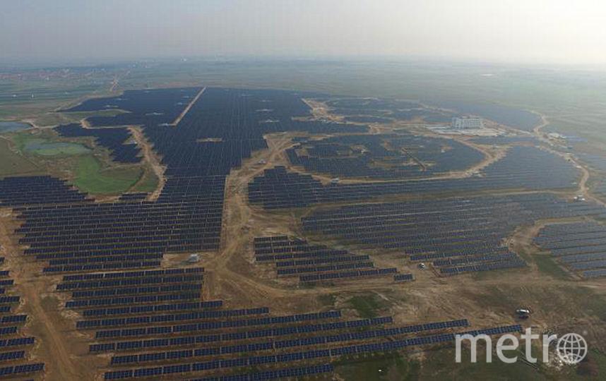 "Ферма солнечной энергии ""Панда"". Фото UNDP China"