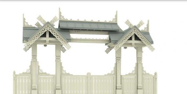 """Один из вариантов ворот под названием """"Евразия""""."""