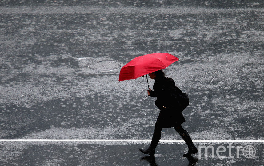 Дождь нагрянет в Петербург в пятницу. Фото Getty