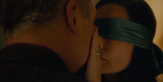 """Кадр из фильма """"Слепец""""."""