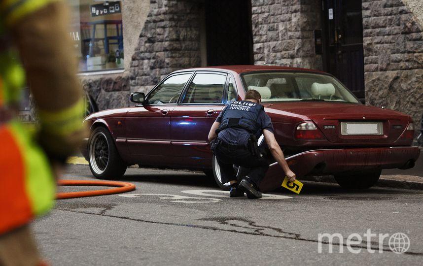 Двое россиян пострадали в результате наезда авто на пешеходов в Хельсинки. Фото AFP