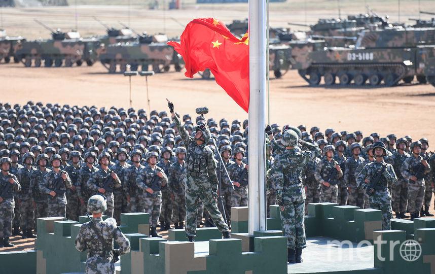 Военный парад в Китае. Фото AFP