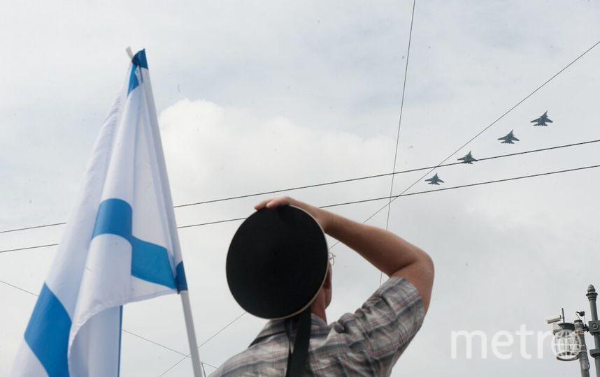 Военно-морской парад в Петербурге: лучшие кадры с места события.