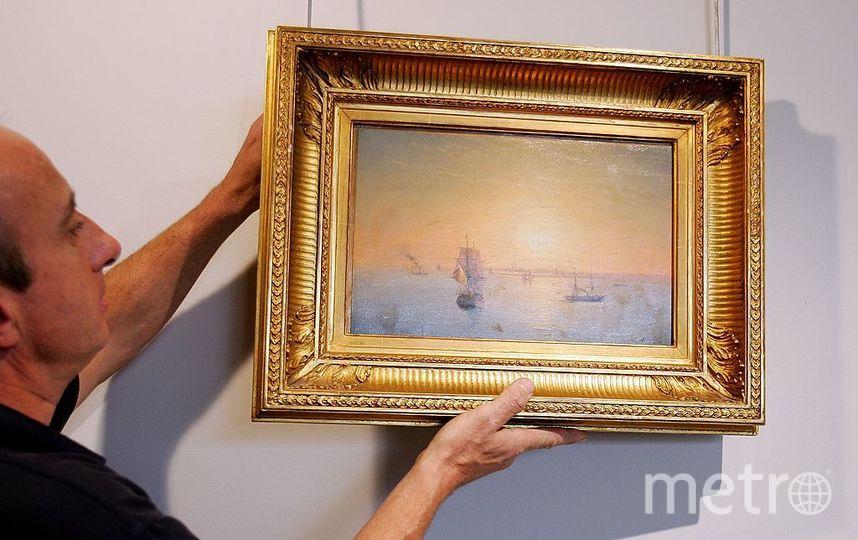 Порошенко назвал работы Айвазовского украинским наследием. Фото Getty