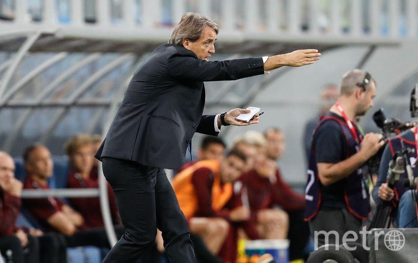 Манчини не проиграл ни одного матча в качестве тренера «Зенита». Фото Getty