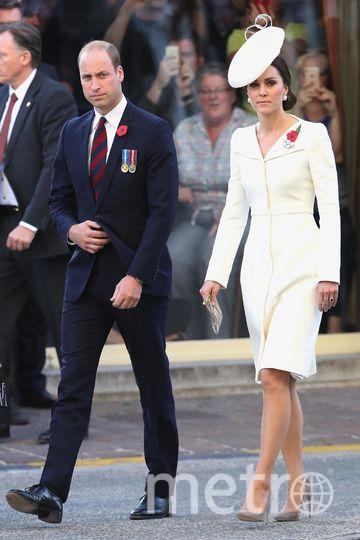 Кейт Миддлтон и принц Уильям в Бельгии. Фото Getty
