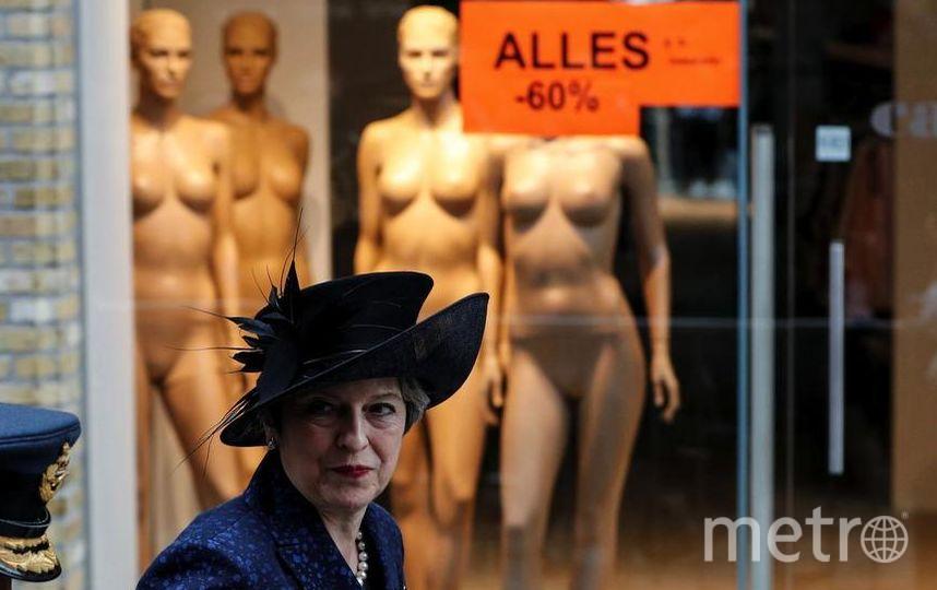Тереза Мэй тоже прибыла с визитом в Бельгию. Фото Getty