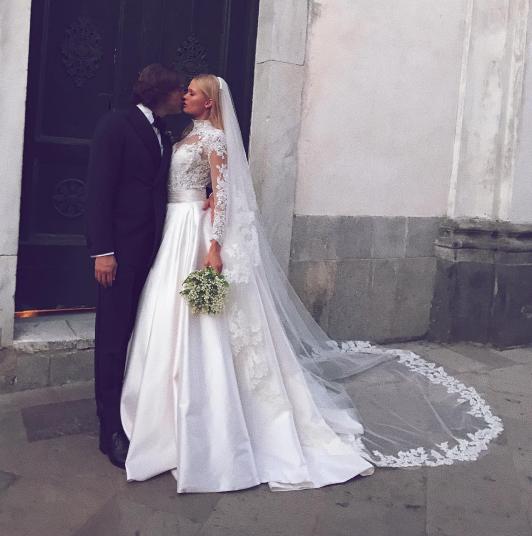 Вита Сидоркина и Валерио Морабито. Фото Instagram/waisband