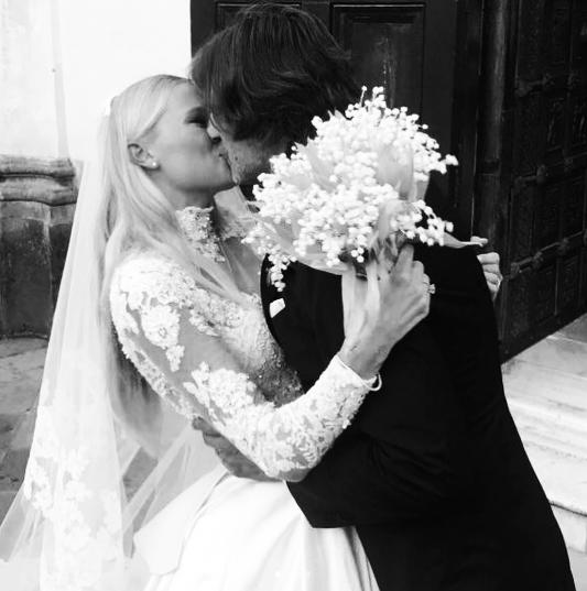 Вита Сидоркина и Валерио Морабито. Фото Instagram/valentinigiovanni