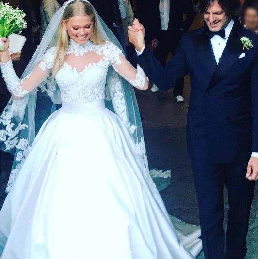 Вита Сидоркина и Валерио Морабито. Фото Instagram/nadejdasavcova