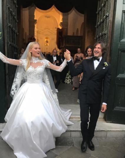 Вита Сидоркина и Валерио Морабито. Фото Instagram/supermatinyc