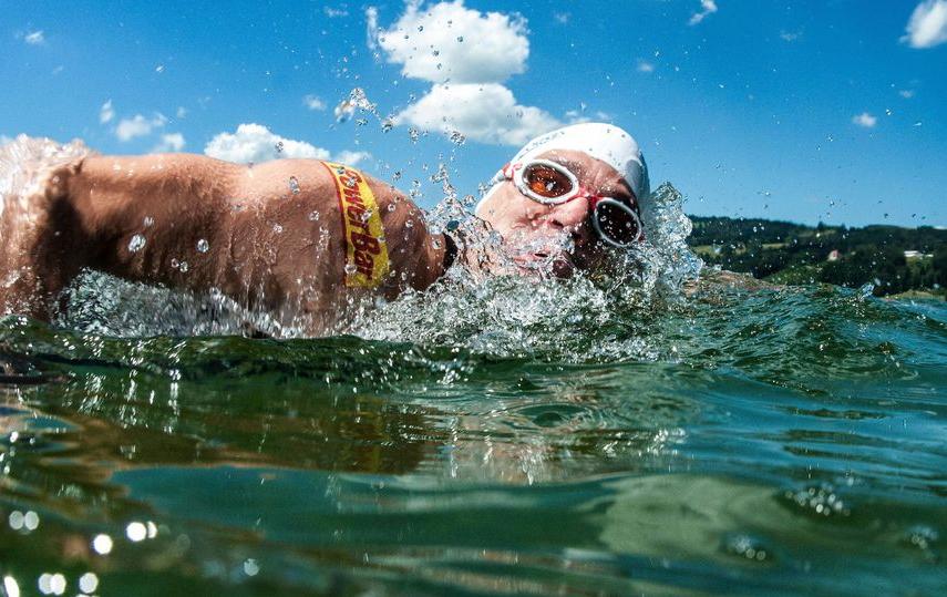 Немец Марко Хенрикс не будет проплывать Неву. Фото Marco Henrichs.