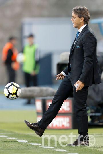 """Тренер """"Зенита"""" Роберто Манчини. Фото Getty"""