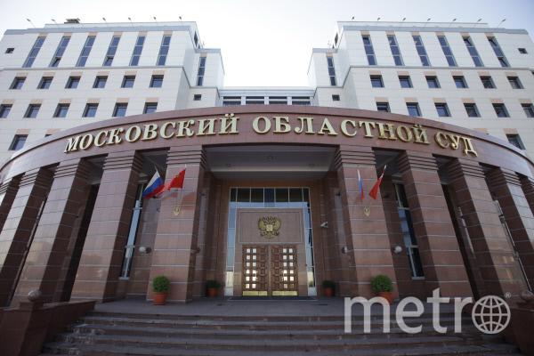 Московский областной суд. Фото РИА Новости
