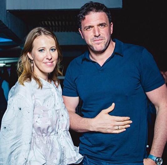 Ксения Собчак и Максим Виторган. Фото Instagram Ксении Собчак