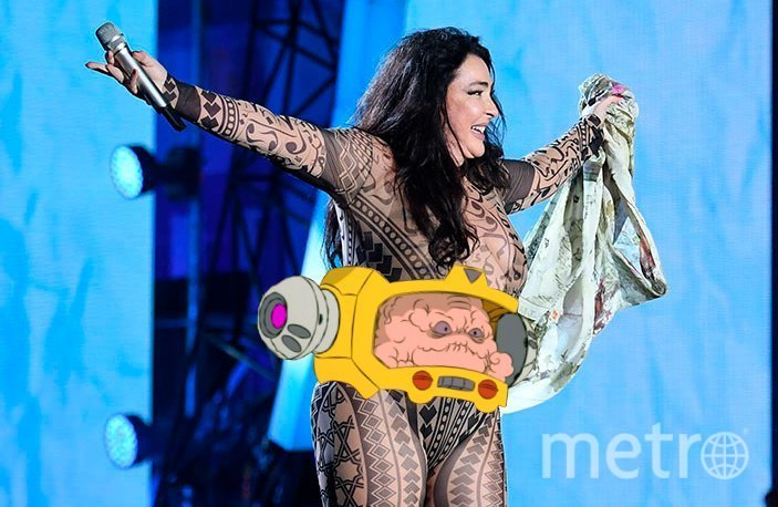 Лолита собрала лучшие мемы с собой в скандальном трико. Фото vk.com