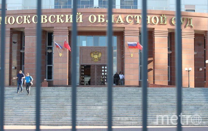 Московский областной суд. Фото Василий Кузьмичёнок