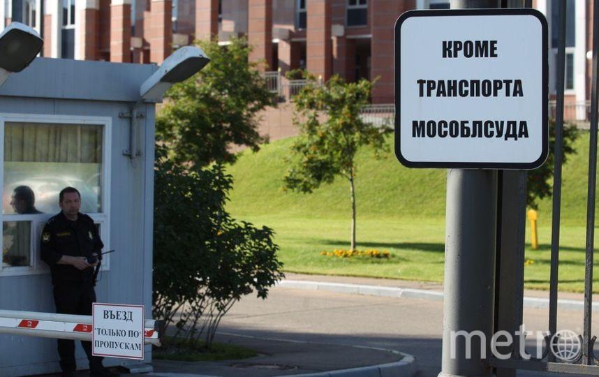 Вьезд в суд. Фото Василий Кузьмичёнок