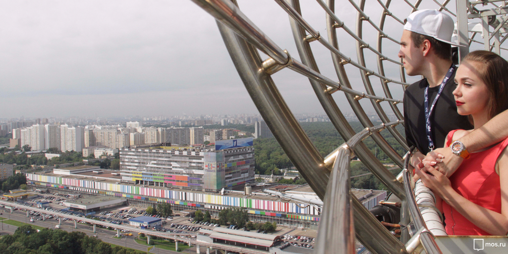 На Останкинской башне открыли новую смотровую площадку. Фото mos.ru