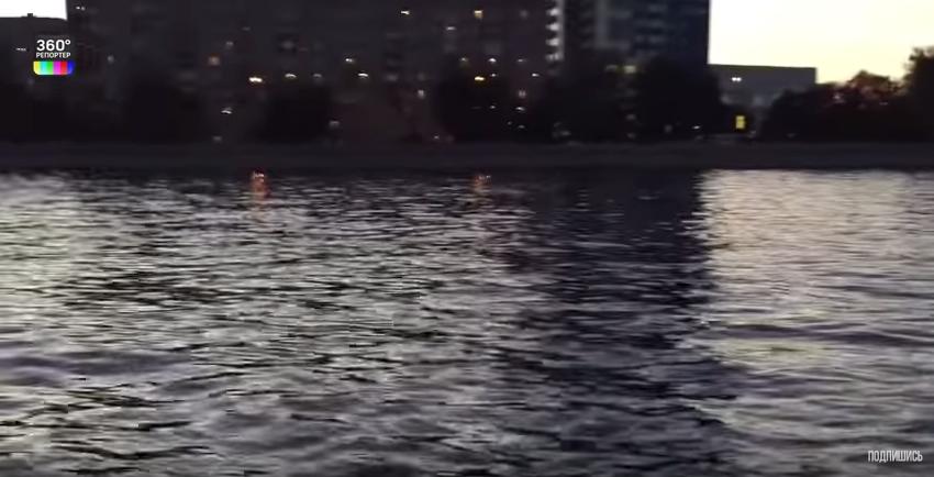 В центре столицы в Москве-реке выловили винтовку 19 века. Фото Скриншот Youtube
