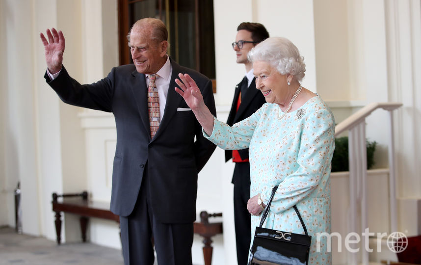 Герцог Эдинбургский Филипп c королевой Елизаветой. Фото Getty