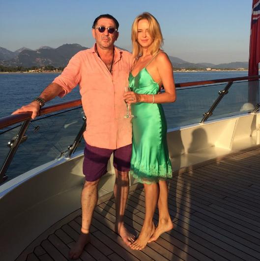 Григорий Лепс с супругой Анной. Фото Instagram Анны Лепс.