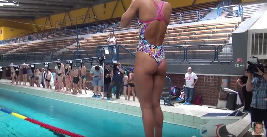 Ягодицы Юлии Ефимовой названы лучшими в российском спорте. Фото Скриншот Youtube