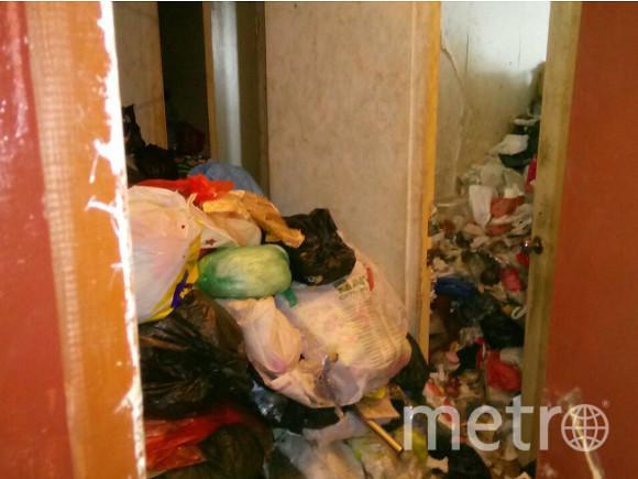 Мусорная квартира. Фото пресс-службы УФССП