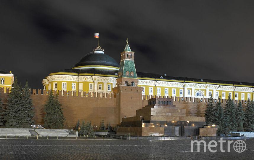 Мавзолей на Красной площади в Москве. Фото Wikipedia/Andrew Shiva