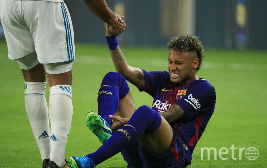 "Игрок ""Барселоны"" Неймар. Фото Getty"