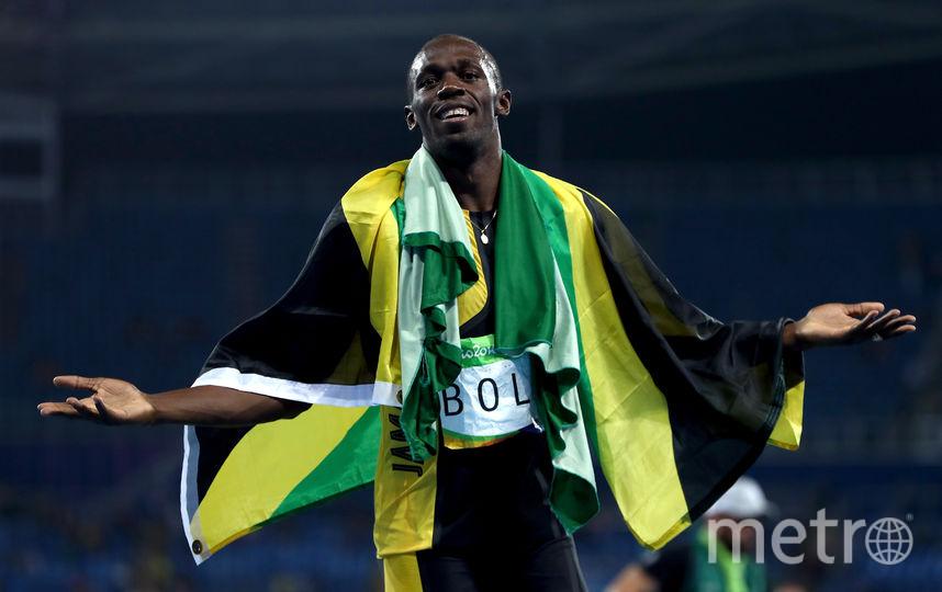 Ямайский бегун Усейн Болт. Фото Getty