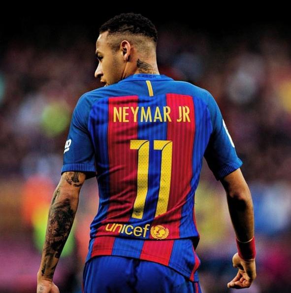 Бразильйский футболист Неймар. Фото Instagram Неймар.