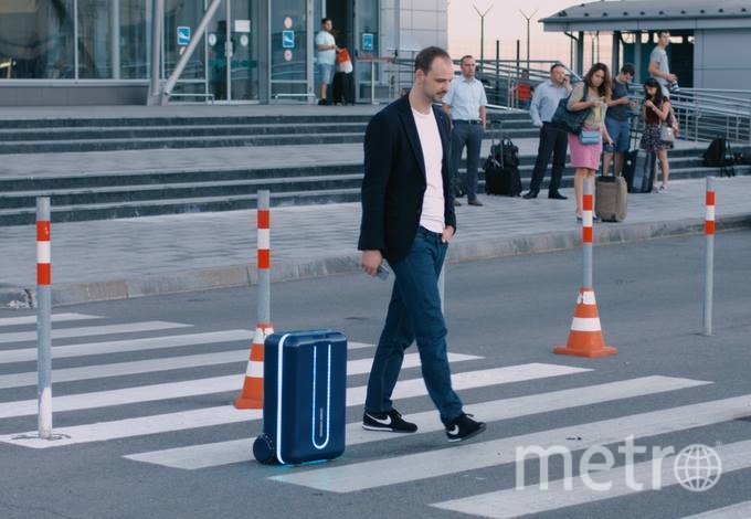 Автономный чемодан. Фото Travelmate