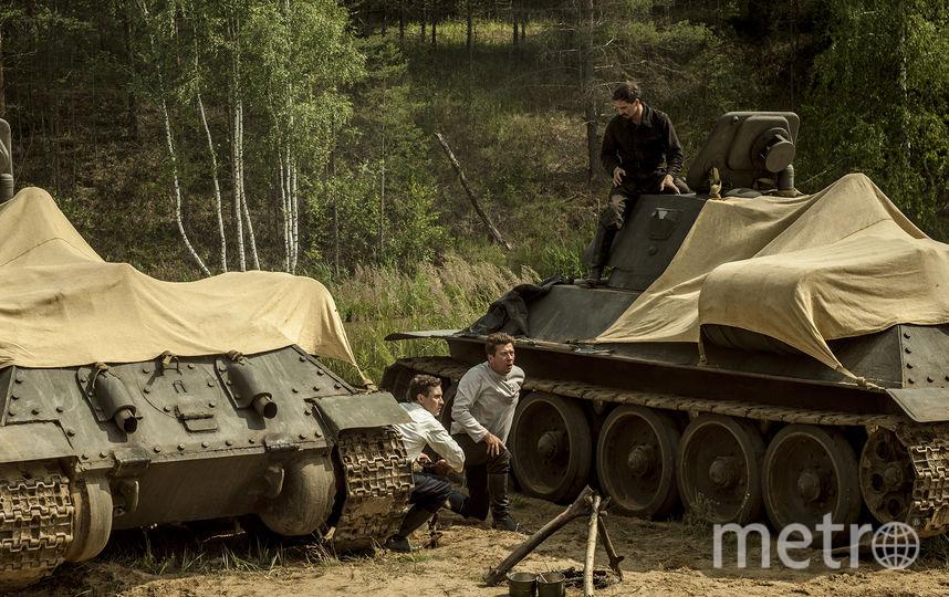 Фото со съёмок фильма. Фото Предоставлено компанией «Медиа-Трест»
