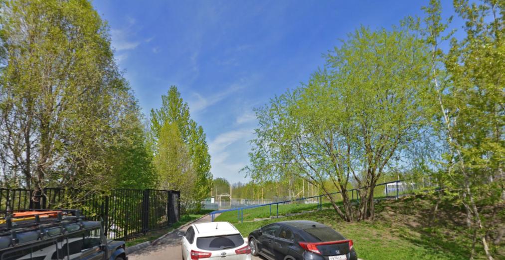Тело нашли в Суворовском парке. Фото Скриншот Яндекс.Панорамы